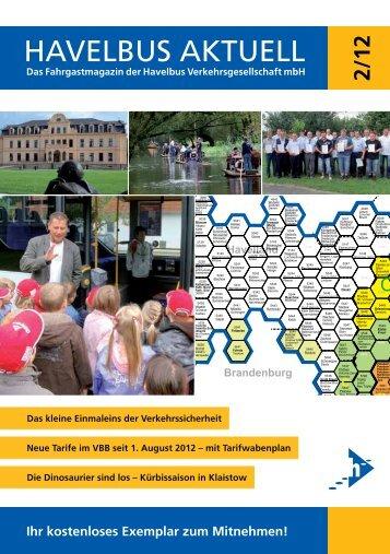 Havelbus Aktuell Nr. 2/12 (PDF 3 MB