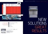NUEVAS SOLUCIONES, GRANDES RESULTADOS - ITV Ice Makers