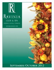September/October 2012 - Ravinia Club