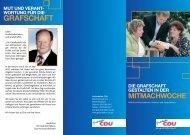 Faltblatt herunterladen - CDU Kreisverband Grafschaft Bentheim