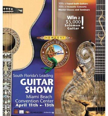 GUITAR SHOW - Florida's Newport Guitar Festival
