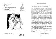Ausgabe 4-2011-Dezember-Februar - St. Viti Kirchengemeinde ...