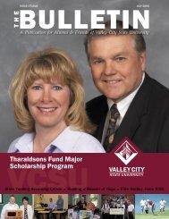 bulletin 7-06 new.indd - Alumni Association - Valley City State ...