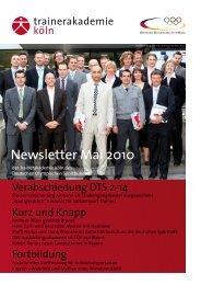 Newsletter Mai 2010 - stephan-tschierschwitz.de