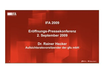 Dr. Rainer Hecker
