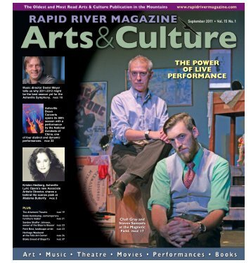 THE POWER OF LIVE PERFORMANCE - Rapid River Magazine