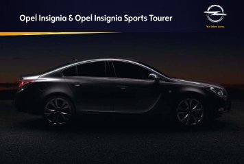 Opel Insignia Katalog