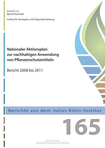 Nationaler Aktionsplan zur nachhaltigen Anwendung - NAP zur ...