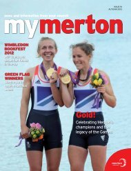 Celebrating Merton's champions and the legacy of ... - Merton Council