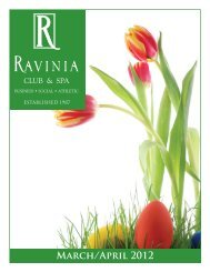 March/April 2012 - Ravinia Club
