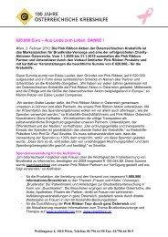 PDF-Download - Österreichische Krebshilfe