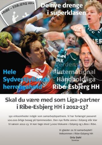 Ribe-Esbjerg HH De nye drenge i superklasen Hele Sydvestjyllands ...