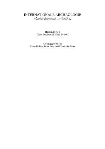 Festschrift Callmer-928.indd - Geolog Ulrich Schnell