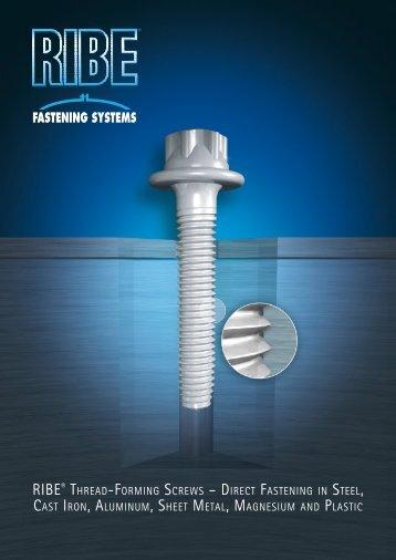 RIBE Fastening Systems - Thread-Forming Screws