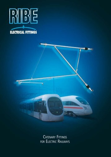 Catenary Fittings for Electric Railways - General Management