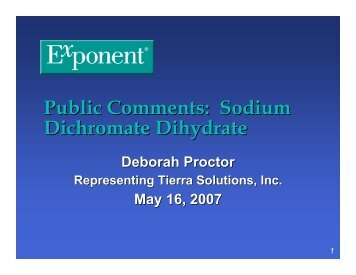 1b Proctor presentation sodium dichromate - National Toxicology ...