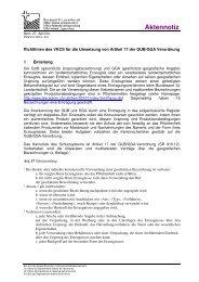 Richtlinien für die Verwendung des Art. 17 - SCHWEIZERISCHE ...