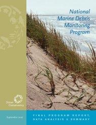 National Marine Debris Monitoring Program report - UNEP