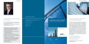 erfahrung engagement effizienz - GGM Real Estate Management