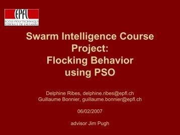 Flocking Behavior - EPFL