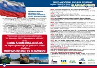 spomenica zbora za republiko proti sporazumu o ... - Zeleni Slovenije