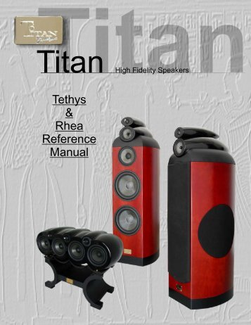 Tethys & Rhea Reference Manual - Earthquake Sound