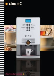 Drinks - Automatic Coffee Machines
