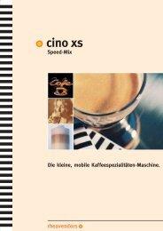 Cino XS SpeedMix - Brogle GmbH