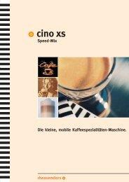 Cino XS SpeedMix - drink o mat GmbH