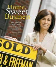 RHEA SIMMS '78 GROWS SMALL REAL ESTATE FIRM INTO ...