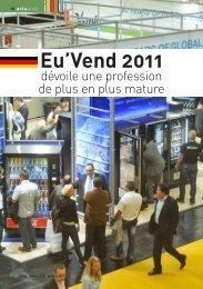 Eu'Vend 2011 - Le Monde De La Distribution Automatique