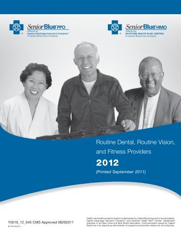Routine Dental, Routine Vision, and Fitness Providers - Capital Blue ...