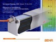 Kühlung Li-Ionen-Batterie - Behr