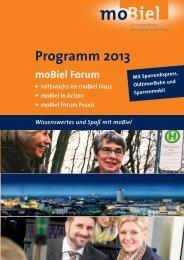 moBiel Forum Programm 2013_Druck - MoBiel GmbH