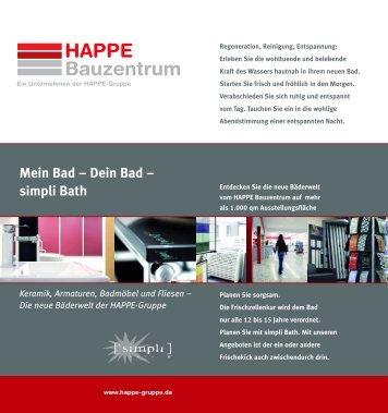 Download Propekt simpli Bath - Happe-Gruppe