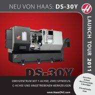 NEU VON HAAS: DS-30Y - M+L Werkzeugmaschinen GmbH
