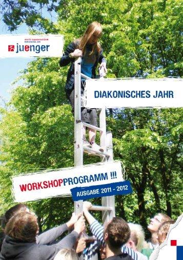 Workshop programm !!! Diakonisches Jahr