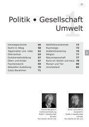 Politik • Gesellschaft Umwelt - Volkshochschule Reckenberg-Ems