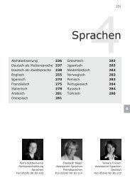 4Sprachen - Volkshochschule Reckenberg-Ems