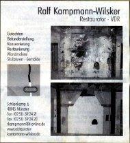 Die Glocke Rheda-Wiedenbrück 25. Januar 2011 - Ralf Kampmann ...