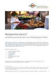 Angebote komplett, PDF - MIX Fleischerei & Partyservice