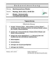 Bekanntmachungen vom 26. Januar 2012 (ca. 210 KB - Stadt Brakel