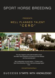 WELL PLANNED TALENT - Horse Times