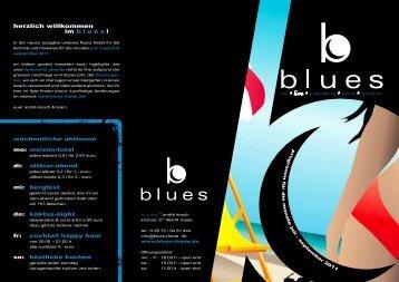 herzlich willkommen im blues ! - Blues Rhede