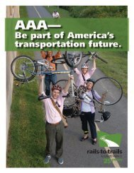Introduction and Alabama to D.C. - Rails-to-Trails Conservancy