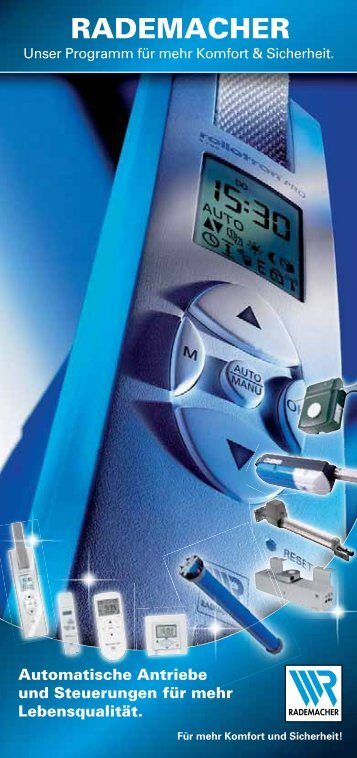 Automatische Antriebe und Steuerungen