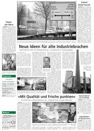 Neue Ideen für alte Industriebrachen (u. a. Berichte) - Stadt Steinheim