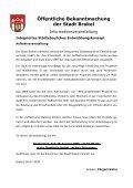 Bekanntmachungen vom 13. August 2009 (ca. 374 KB - Stadt Brakel - Page 4