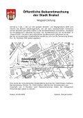 Bekanntmachungen vom 20. August 2009 (ca. 295 KB - Stadt Brakel - Page 6