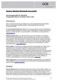 Bremen: Maritime Wirtschaft und Logistik - Germany Travel